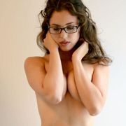 hot_brunette_sarah_topless_with_her_glasses-5