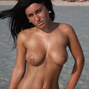 hot_brunette_chantelle_topless_on_the_beach-13