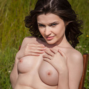 cute_coed_doria_naked_in_a_field-7